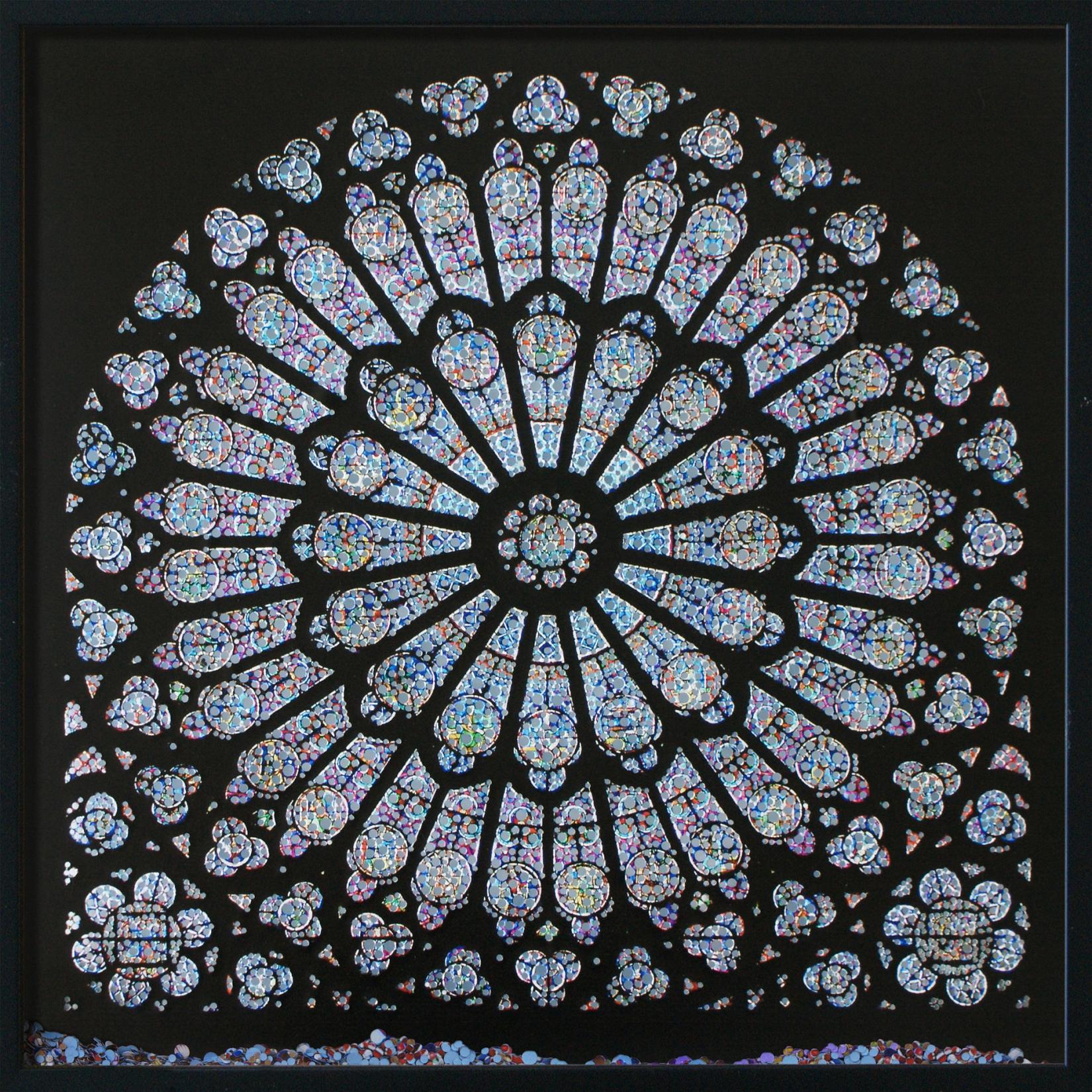 Cathédrale Notre-Dame, Paris dxf File