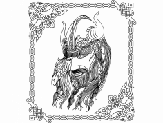 Viking Sborka dxf File