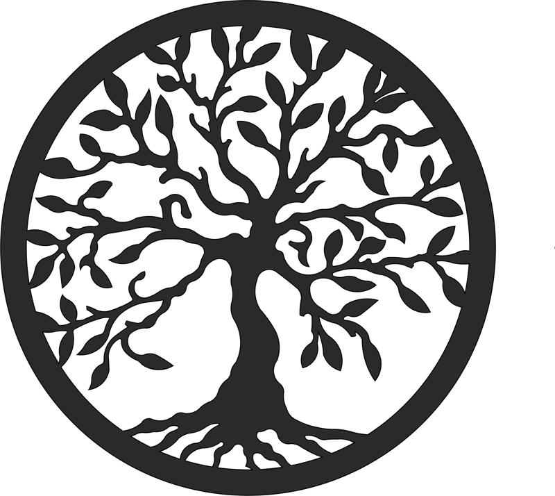 tree of life laser cut vector eps vector file free download rh 3axis co tree of life vector image tree of life vector free download