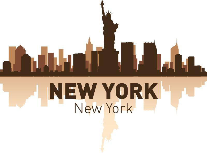 New York Skyline Vector Art Free Vector Cdr Download 3axis Co