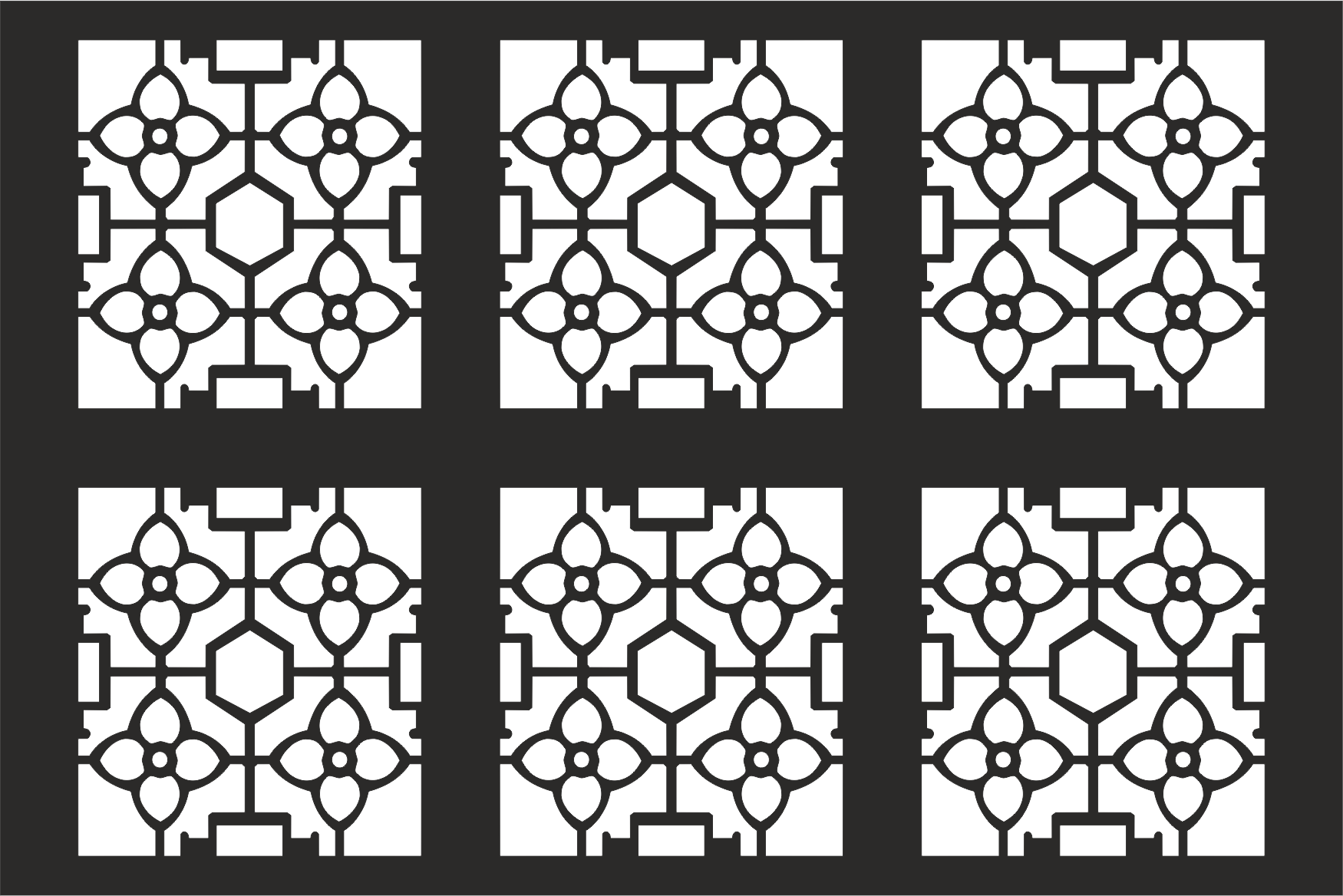 Decorative Grille Pattern Free Vector Cdr Download 3axis Co