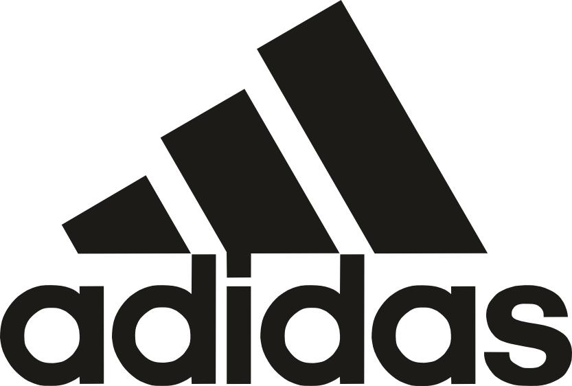 Adidas logo in vector format CDR File