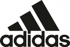 Adidas logo in vector format CDR File