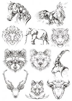 Original Animals Vectors CDR File