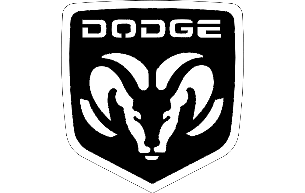 Dogde Logo Dxf File Free Download 3axis Co