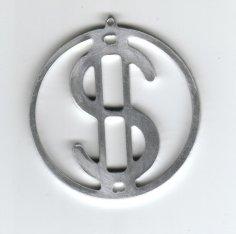 Dollar Ring dxf File