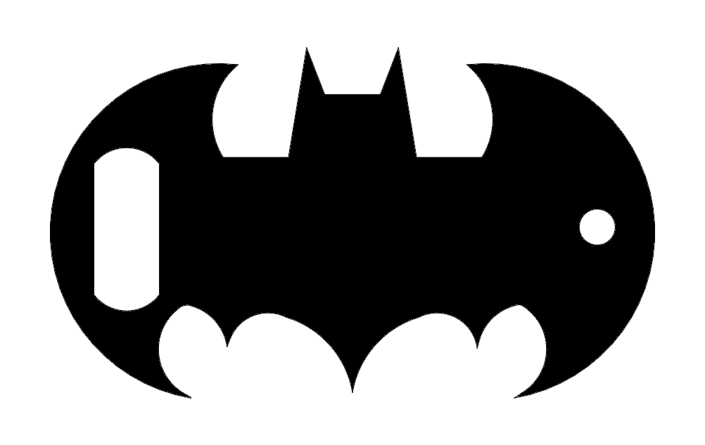 Batman Opener Dxf File Free Download 3axis Co