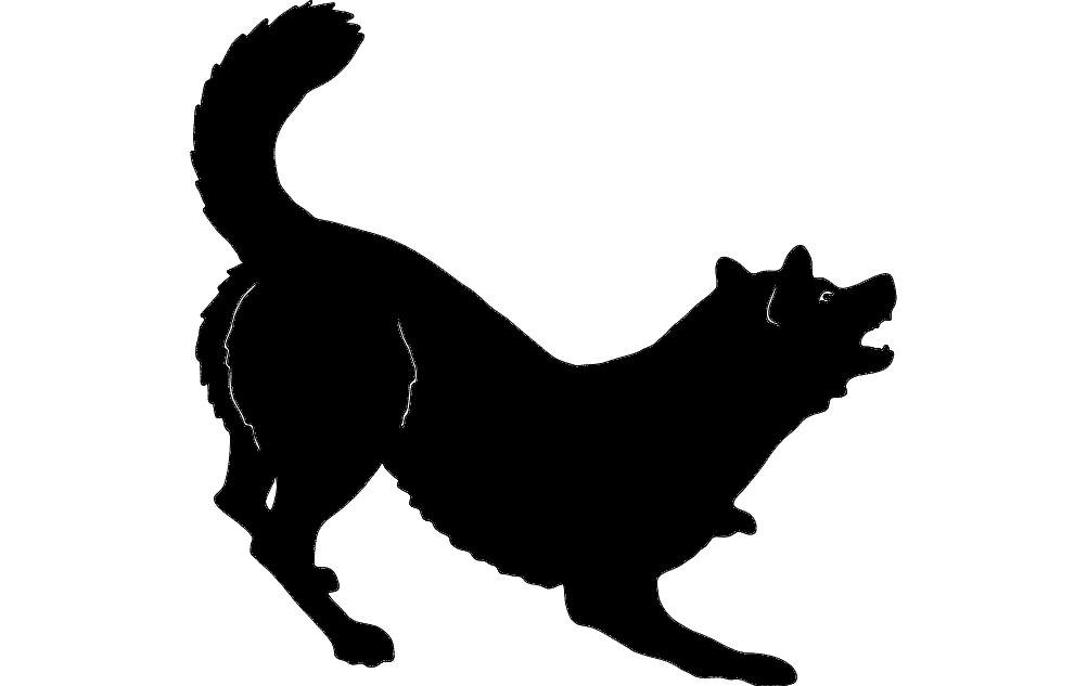 German Shepherd 2 dxf File Free Download - 3axis co