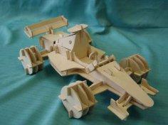 Carro Formula 1 dxf File