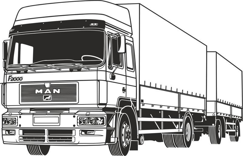Truck Vector Free Vector Cdr Download 3axis Co