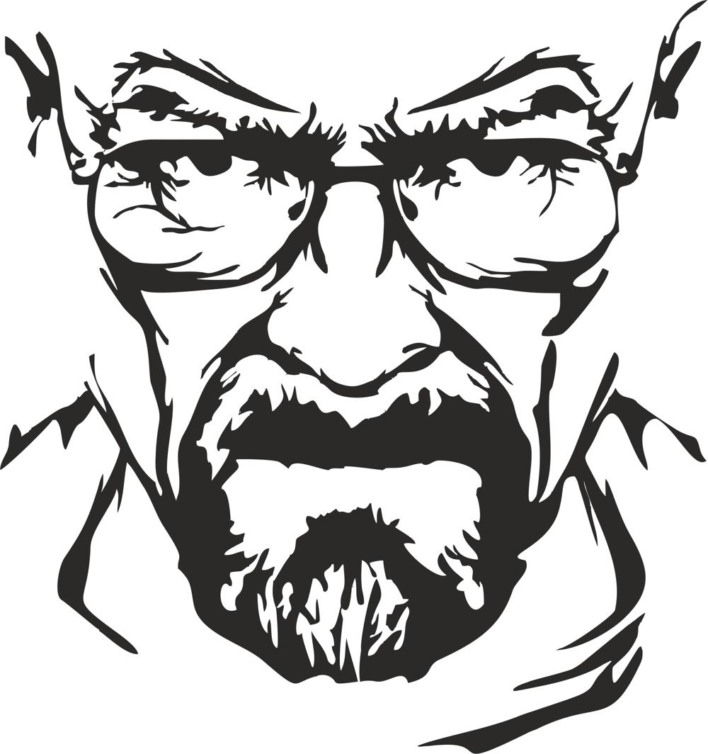 Breaking Bad Heisenberg Vector Free Vector cdr Download ...