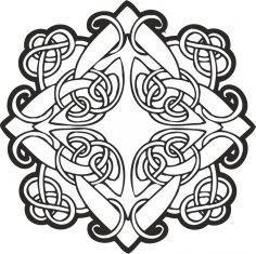 Celtic ornament vector CDR File