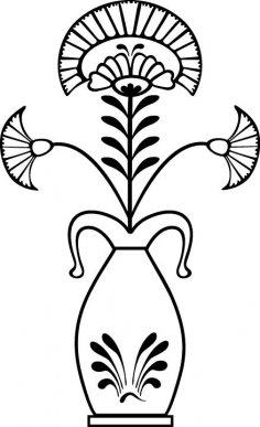 Flower Pot EPS File
