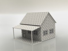 Little House 3mm dxf File