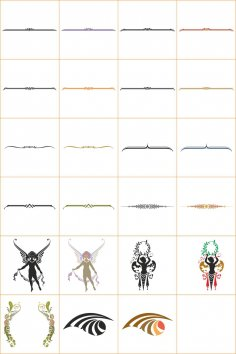 Vector Frame Border Divider Collection CDR File