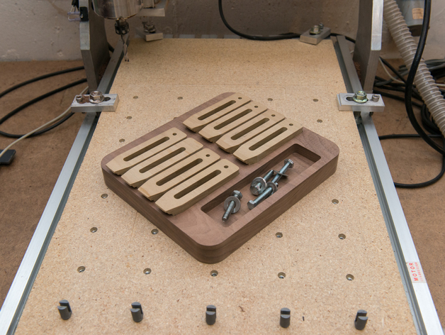 Cnc Router Clamp Tray Dxf File Free Download 3axis Co
