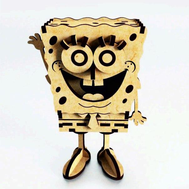 Spongebob Laser Cut Free Vector Cdr Download 3axis Co