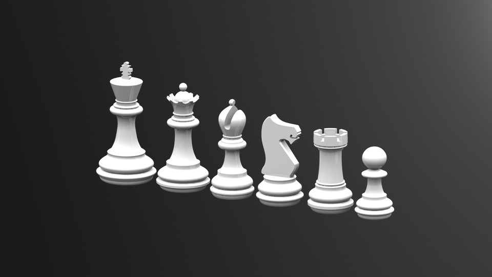 Chess Game King Dxf File Free Download 3axis Co