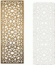 Ornamental Vector Art Pattern CDR File