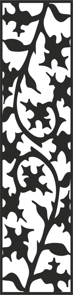 Vector Floral Pattern CDR File