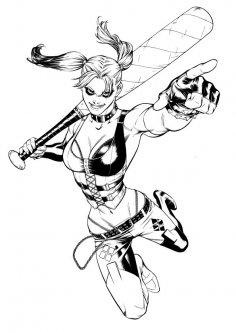 Harley Quinn CDR File