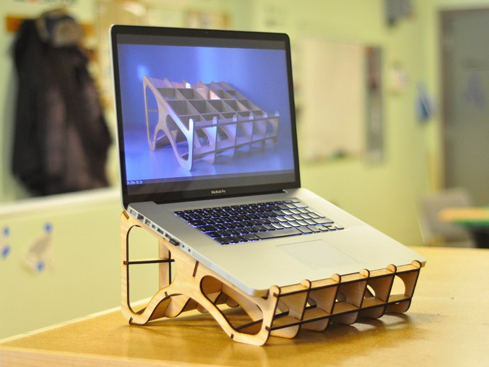 Laptop Stand dxf File