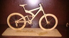Bicycle 3D Puzzle CDR File