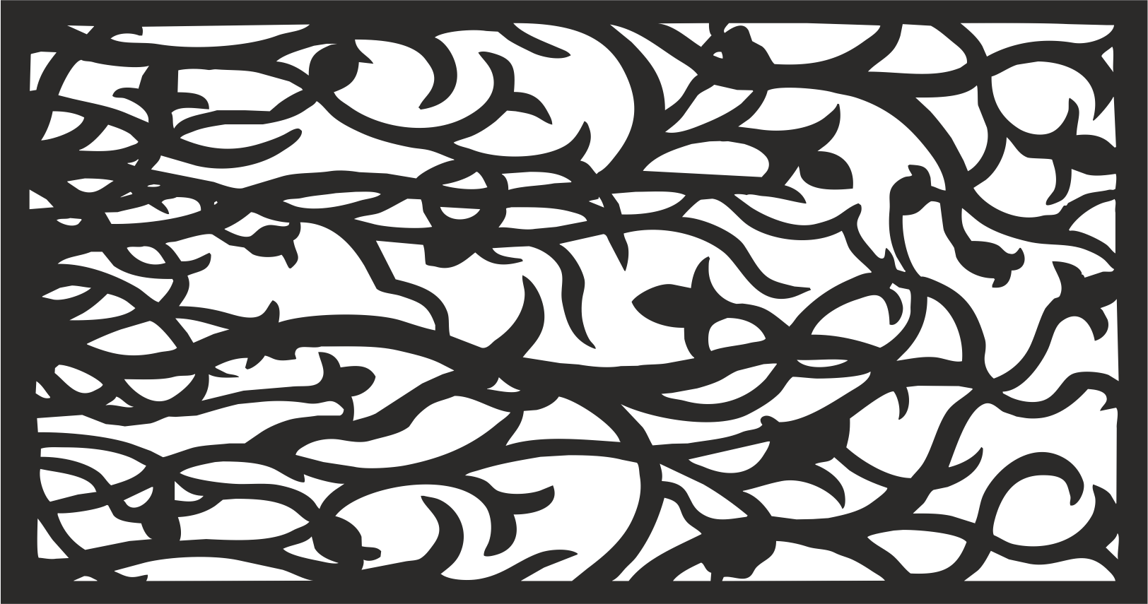 Decorative Panel Pattern CDR File