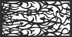 Decorative Panel Pattern CDR File
