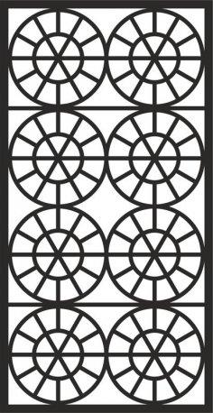 Grate Design Pattern dxf File