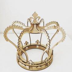 Coroa Em 3d CDR File