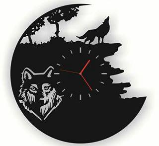 Vinyl Watches Wolf Cdr Free Vector cdr Download - 3axis co