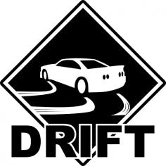 Drift Sticker CDR File