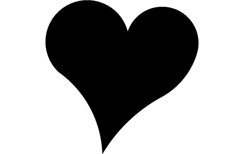 heart 2.5 dxf File Free Download - 3axis.co