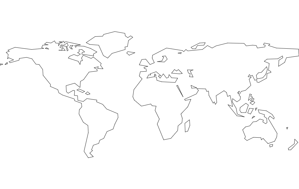 World continents dxf file free download 3axis world continents dxf file gumiabroncs Image collections
