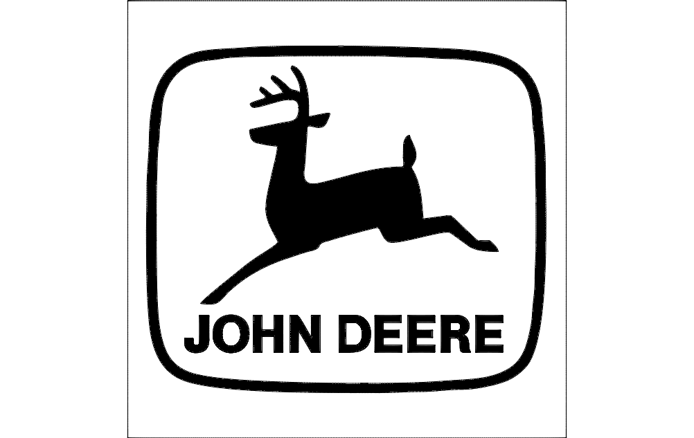 John Deere Logo Dxf File Free Download 3axis Co