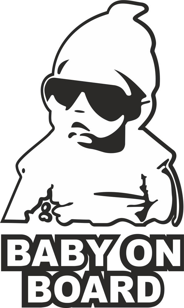 Baby On Board Sticker Free Vector Cdr Download 3axis Co