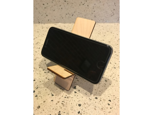 Iphone Stand dxf File