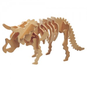 Triceratops 3d Puzzle Dxf File Free Download 3axis Co
