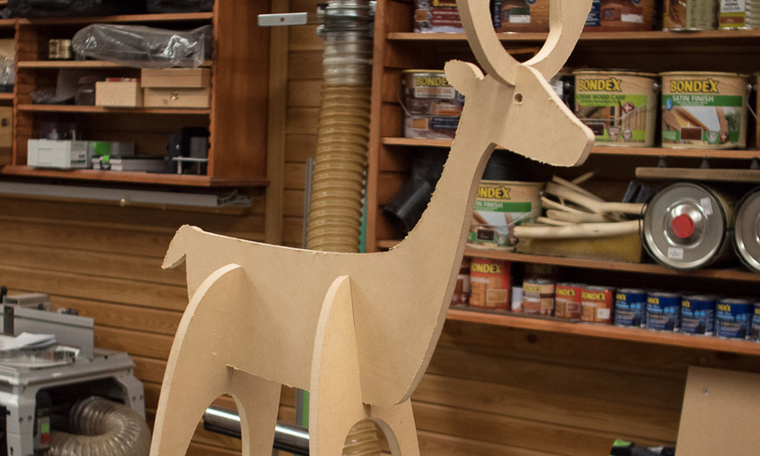 Christmas Reindeer Rudolph Laser Cut Cnc Router Plans Svg File Free Download 3axis Co