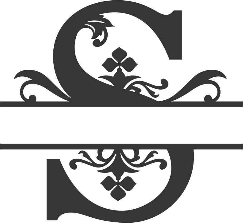 Regal Split Font S Dxf File Free
