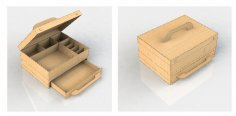 Drawer Box dxf File