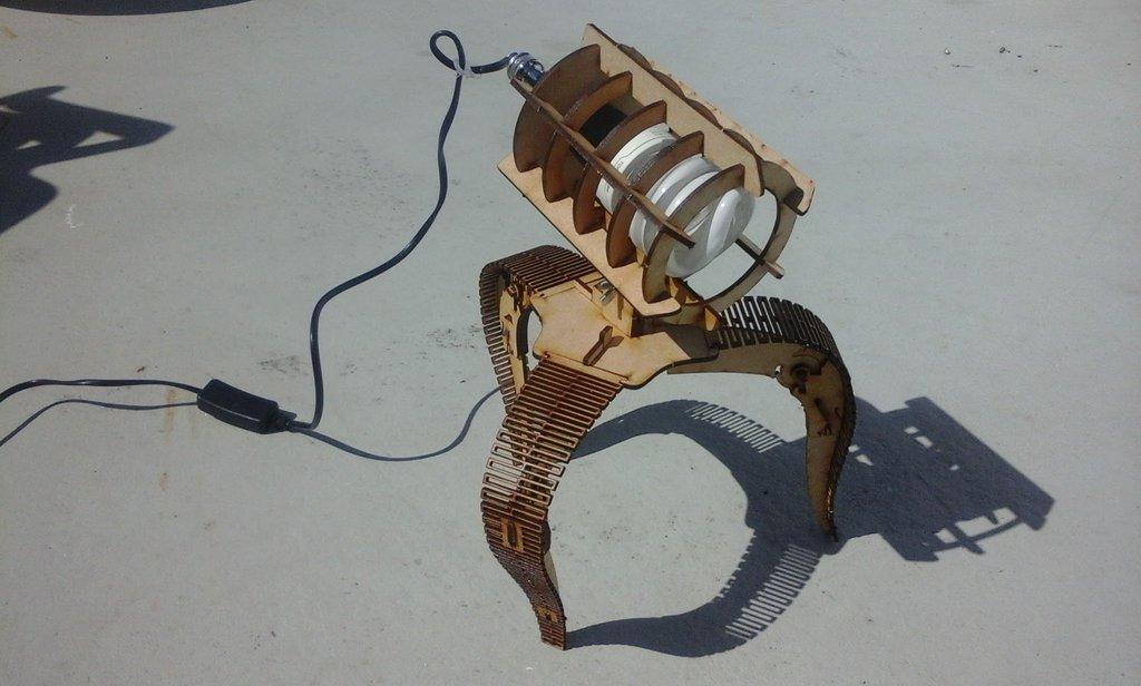 Laser Cut Lamp dxf File