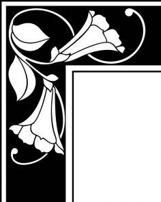 Corner Design 16 EPS File