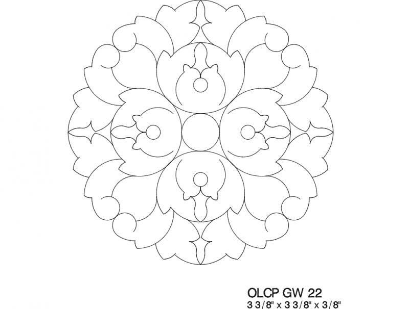 Uzor 03 dxf File