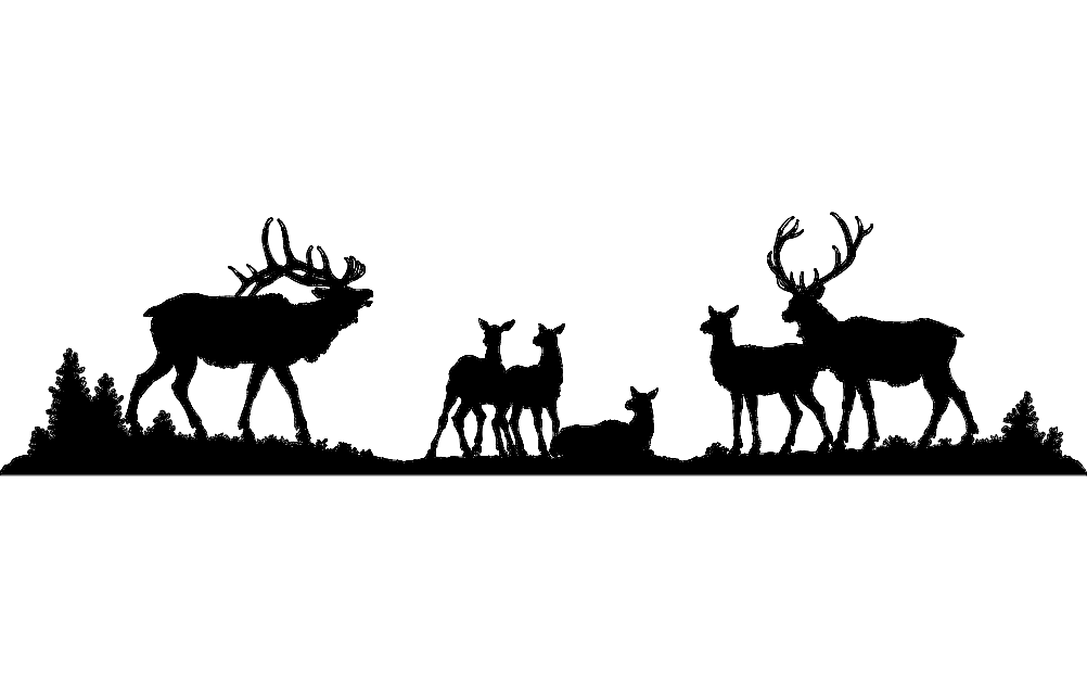 Elk dxf File Free Down...
