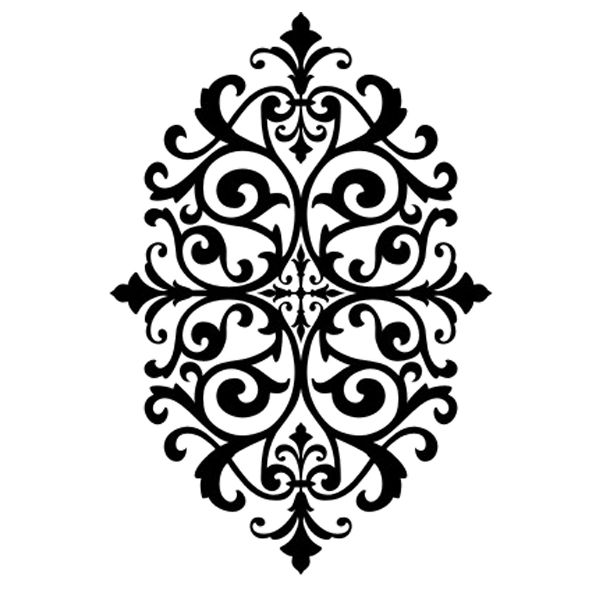 Medallion Stencil Design Dxf File Free Download 3axis Co