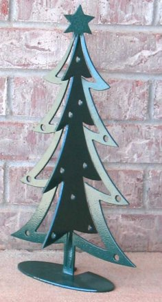 Xmas Tree 3d dxf File