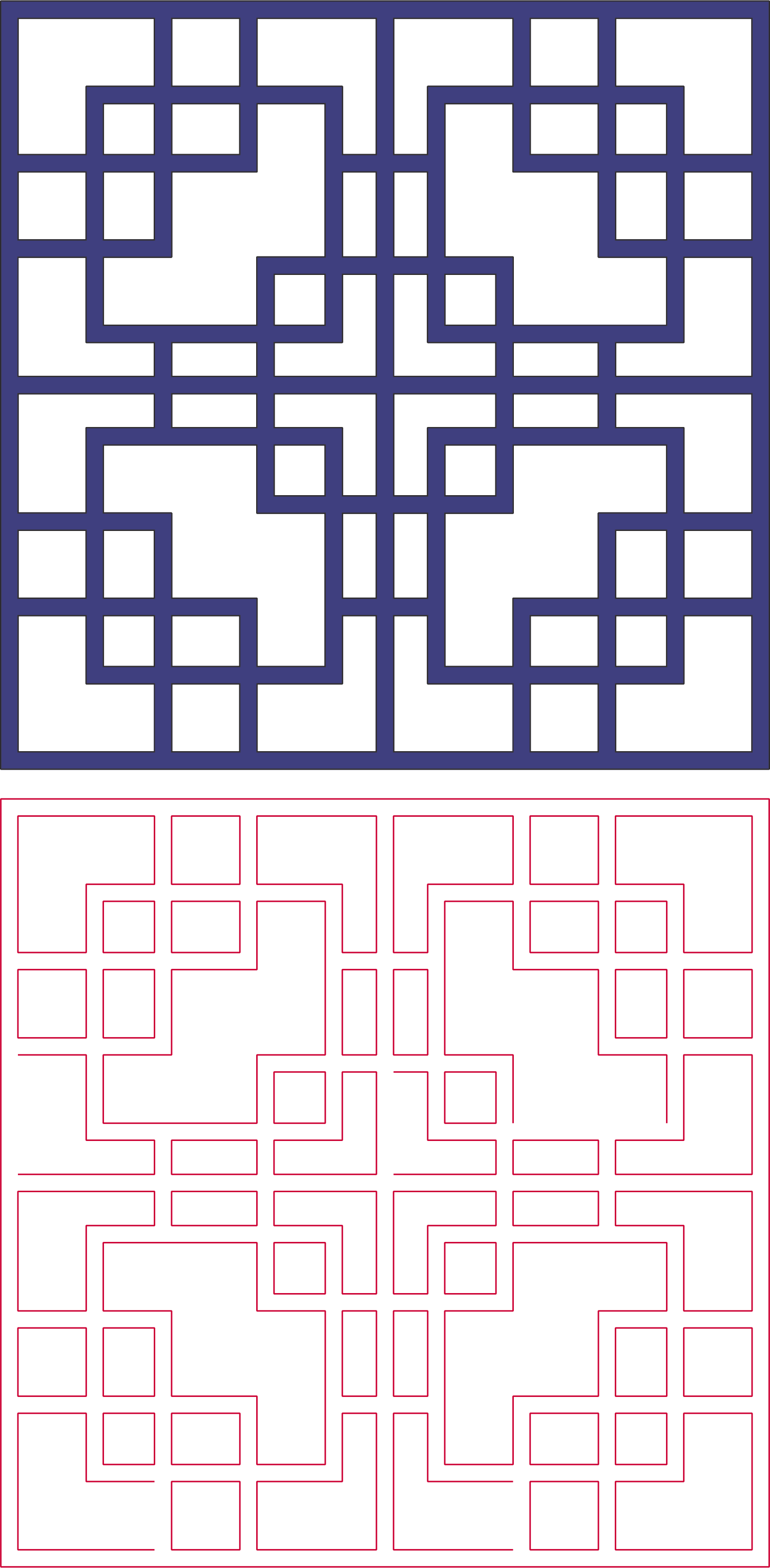 Square Pattern Vector Art Dxf File Free Download 3axis Co