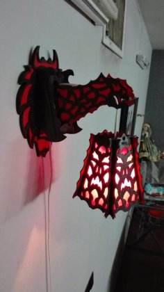 Dragon Lamp 3 Mm CDR File